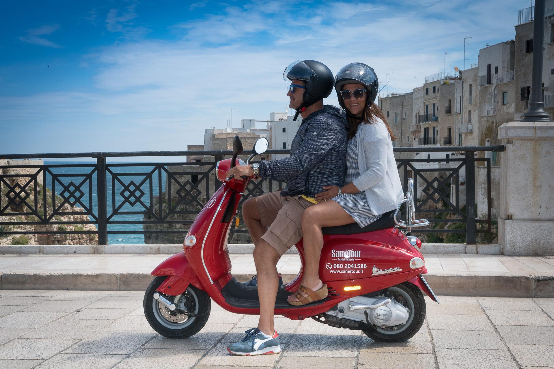 Turisti in moto